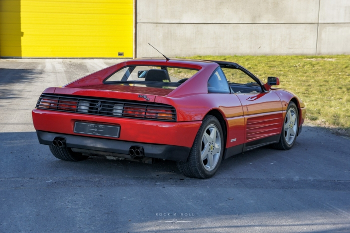 '91 Ferrari 348 TS - Second owner - Belgian Car