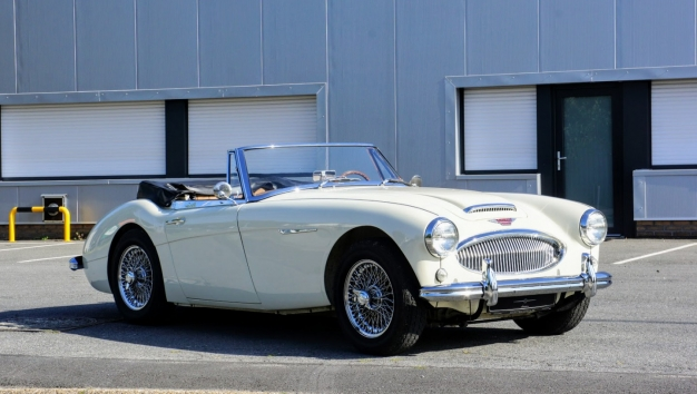 TOO LATE '62 Austin Healey 3000 MKII roadster – fully restored – matching numbers