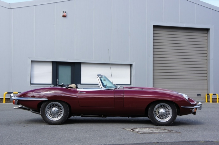 SOLD: Jaguar E-Type S2 Roadster fully restored
