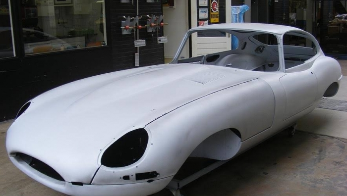 SOLD '61 Jaguar E-type S1 Flatfloor nr 26