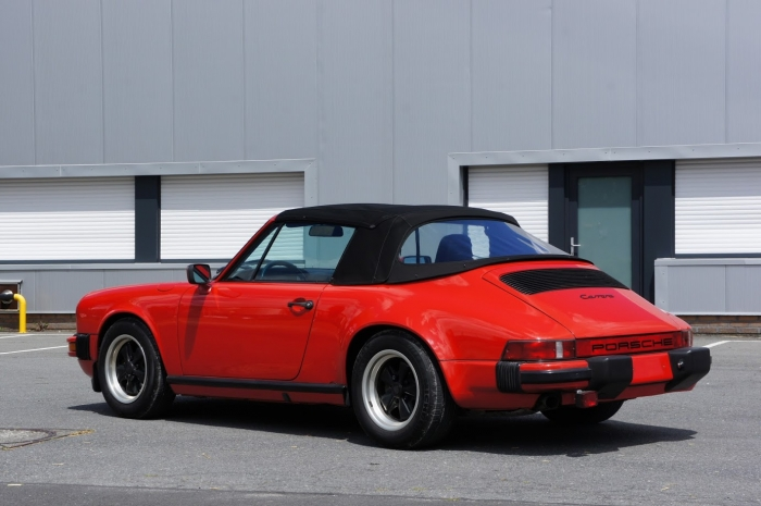 SOLD '85 Porsche 911 3.2 cabrio – original paint!